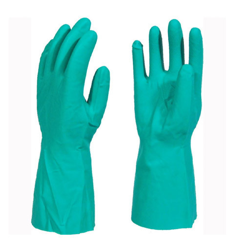 GREEN NITRILE CHEMICAL RESISTANT GLOVE